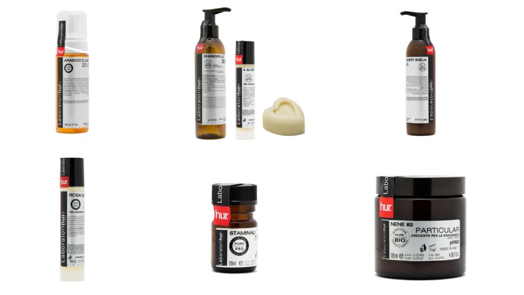 Produse cosmetice profesionale  HUR, gama Laboratorie HUR - Bio, Naturale și Vegane
