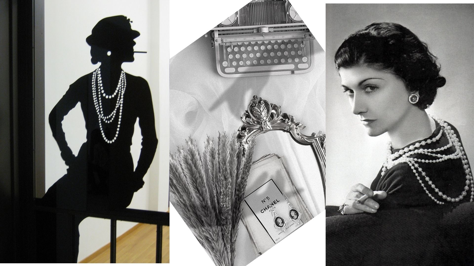 Image credits : https://www.flickr.com/photos/likeabalalaika/3720176418/ https://commons.wikimedia.org/wiki/File:Coco_Chanel_tentoonstelling.JPG